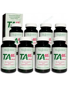 Pack 8 x TA-65 250 - 90 caps (2 years cure)